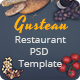 Gusteau - Restaurant PSD Template