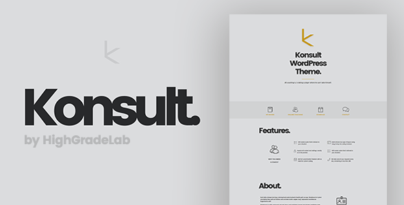 Konsult – Business Consulting & Finance WordPress Theme