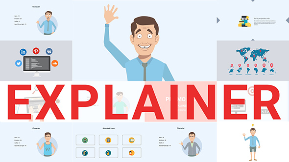 Explainer video toolkit by clean promo videohive for Explainer video script template