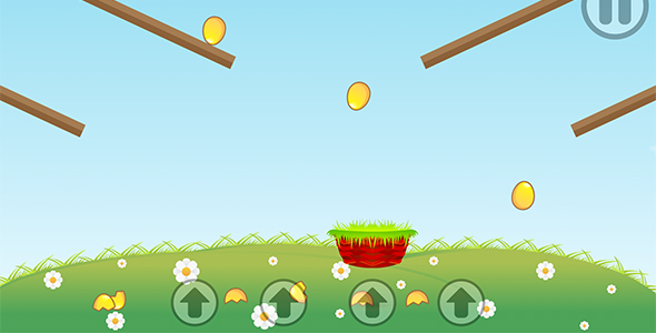 Eggs Catcher with AdMob and Leaderboard - CodeCanyon Item for Sale