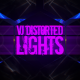 VJ Distorted Lights (4K Set 8) - VideoHive Item for Sale
