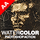 Watercolor Photoshop Action Nulled
