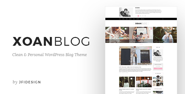 XoanBlog – Clean and Personal WordPress Blog Theme