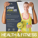 Health & Fitness Center Flyer - GraphicRiver Item for Sale