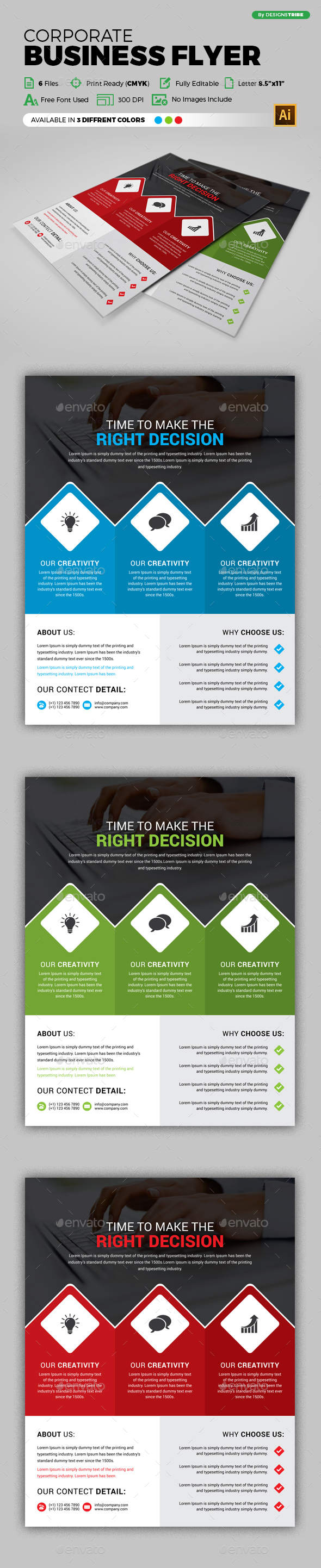 Flyer – Multipurpose 267 - Corporate Flyers