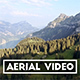 Revealing Aerial Shot of a Swiss Mountain Range - VideoHive Item for Sale