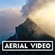 Aerial Shot of Cloudy Mountain Summit in Switzerland - VideoHive Item for Sale