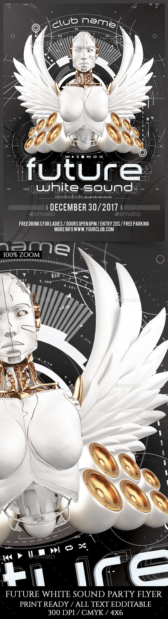Future White Sound - Clubs & Parties Events