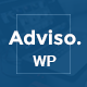 Adviso - Finance, Consulting, Business WordPress Theme Nulled