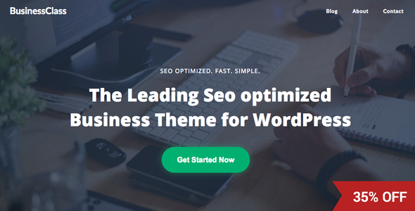 Business Class – Seo Optimized and Seo Friendly Corporate Business Theme