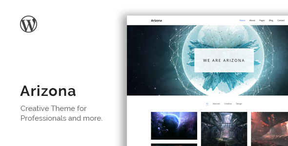 Arizona – Minimal Portfolio Theme