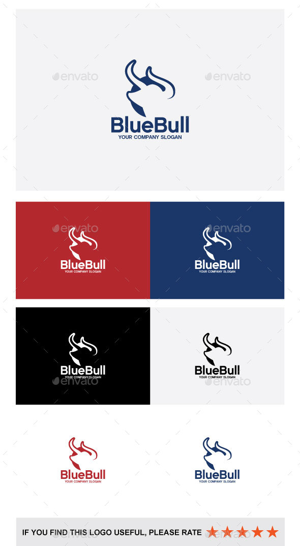 BlueBull - Vector Abstract