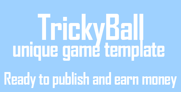 Trickyball ios game unique gameplay buildbox file - CodeCanyon Item for Sale
