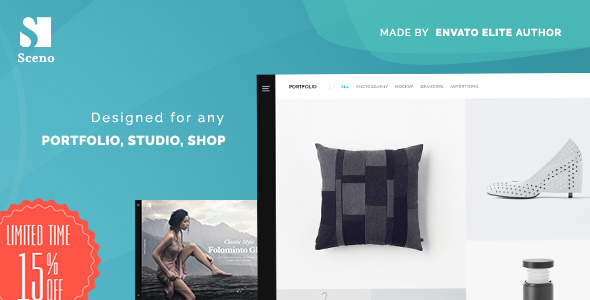 Image of Sceno - Responsive Multi-Purpose WordPress Theme