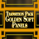 Golden Soft Panels - Transition Pack - VideoHive Item for Sale