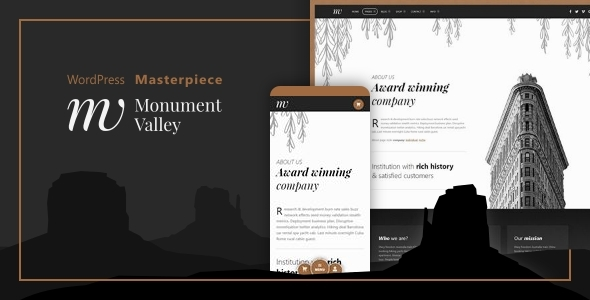 Monument Valley - Accessible WooCommerce & Business Masterpiece - WooCommerce eCommerce