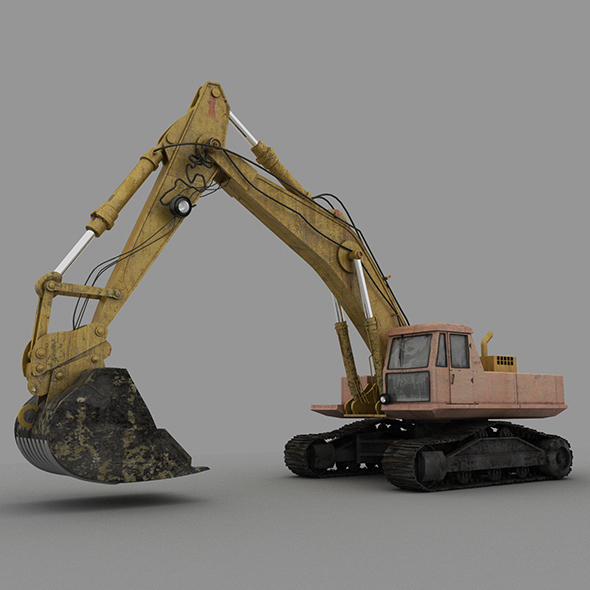 Digger - 3DOcean Item for Sale