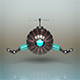 Futuristic Robot - 3DOcean Item for Sale