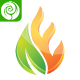 Eco Flame - E Letter Logo - GraphicRiver Item for Sale