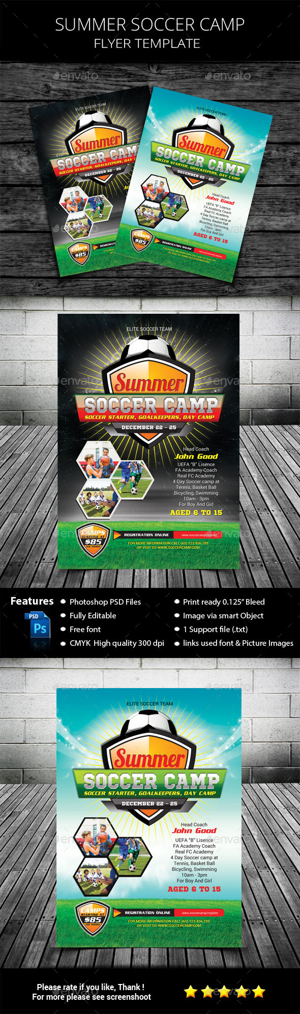 Kids Summer Soccer Camp - Sports Events