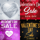 Valentines Day Banners Vol1 - GraphicRiver Item for Sale