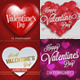 Valentines Day Banner Set Vol2 - GraphicRiver Item for Sale
