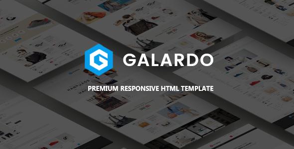 Fashion Store HTML Template - Galardo