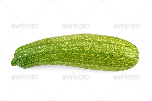 Zucchini green striped - Stock Photo - Images