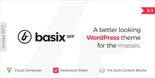 Basix - Responsive WordPress Theme - Business Corporate