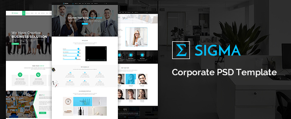 Sigma Corporate HTML5 Template