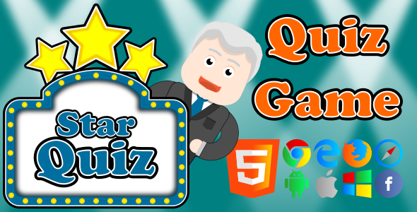 Star Quiz - HTML5 Game - CodeCanyon Item for Sale