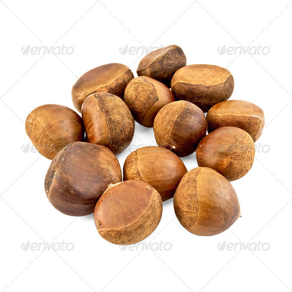 Chestnuts - Stock Photo - Images
