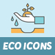 45 Environment & Eco Friendly Icons - GraphicRiver Item for Sale