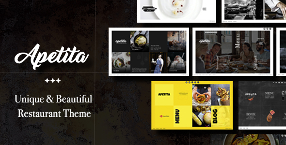 Apetita – WordPress Restaurant Theme