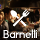 Barnelli - Restaurant Responsive WordPress Theme Nulled