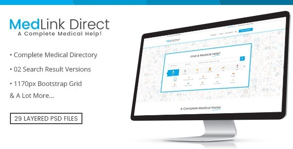 Doctor Directory – PSD Template