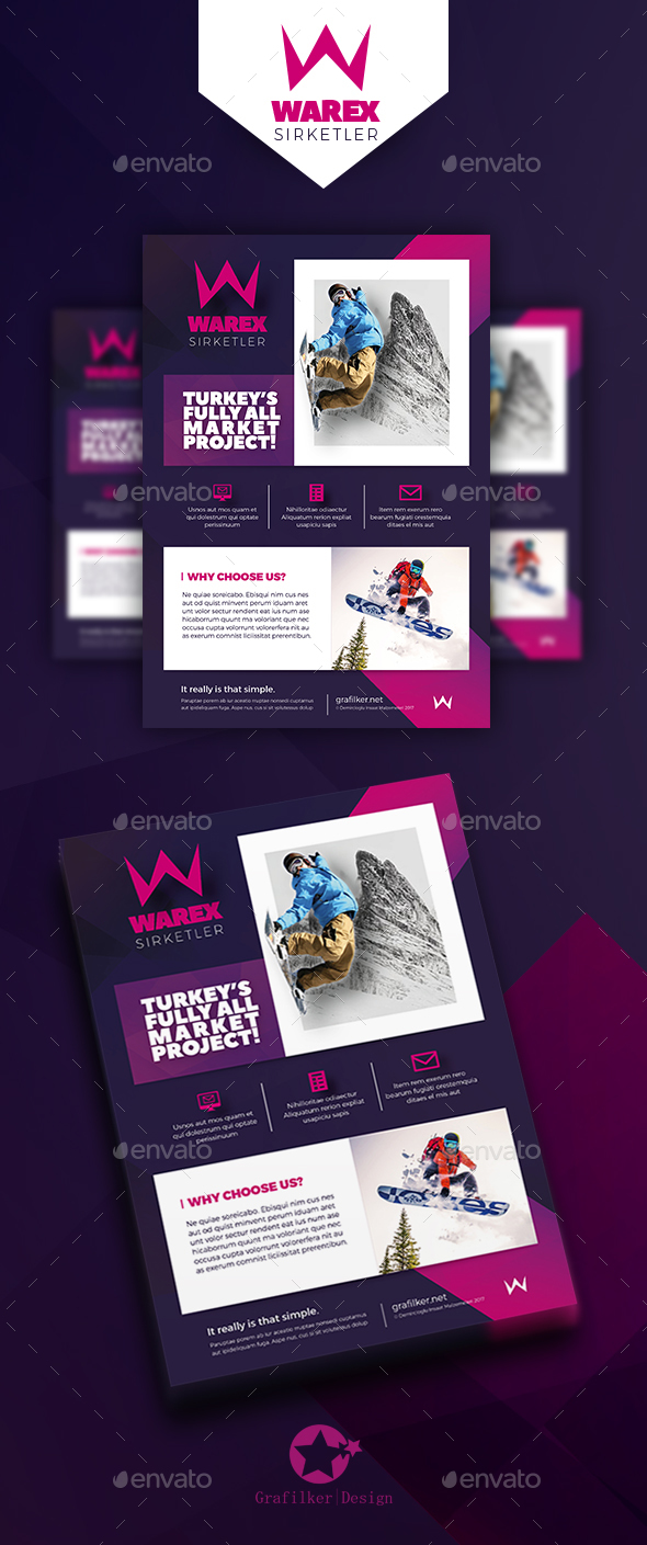 Marketing Flyer Templates - Corporate Flyers