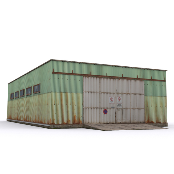 Hangar2 - 3DOcean Item for Sale