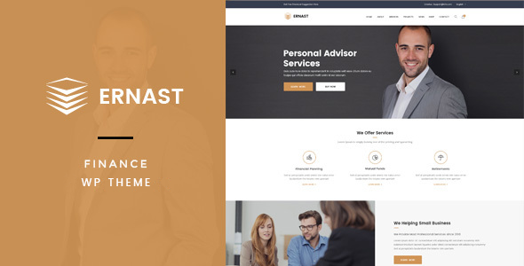 Ernast - Business & Finance Theme