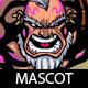 Warrior Cartoon Mascot - GraphicRiver Item for Sale