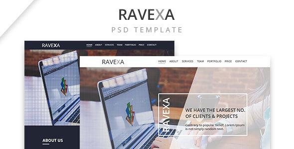 Ravexa | Landing Page