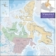 Map of Nunavut - GraphicRiver Item for Sale