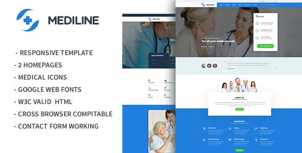 Mediline – Medical & Health HTML Template