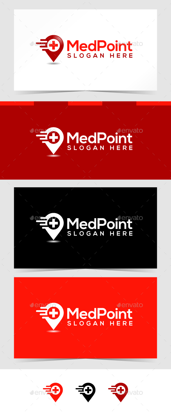Medical Point Logo Template - Objects Logo Templates