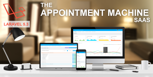 The Appointment Machine SaaS V2.1.3 - CodeCanyon Item for Sale