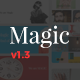 Magic - Creative Portfolio HTML Template - ThemeForest Item for Sale