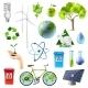 Download Vector Green Energy Sign Set