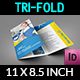 Cleaning Services Tri-Fold Brochure Vol.3 - GraphicRiver Item for Sale