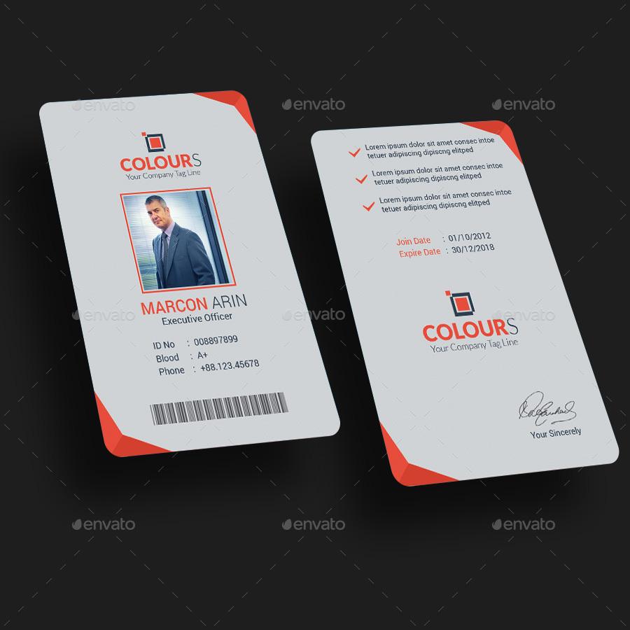 modern id card - Gecce.tackletarts.co