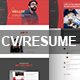 CV/Resume PSD Template Nulled